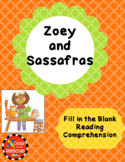 Zoey and Sassafras Dragons and MarshmallowsFill in the Blanks Activity Chapter 1