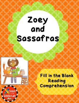 Zoey and Sassafras Dragons and MarshmallowsFill in the Bla