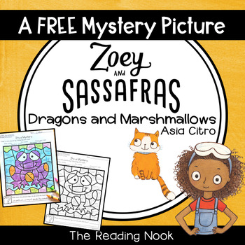 Free Zoey and Sassafras Color-by-Character Picture