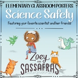 Zoey and Sassafras - Science Safety Posters