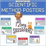 Zoey and Sassafras - Scientific Method Poster Set