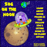 Zog On The Moon Learning About Moon Phases