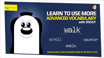 Zoggy Takes A Walk (Breakthrough In Vocabulary Work Pack) 7-11