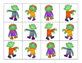 Zombie!  Addition Facts Game!
