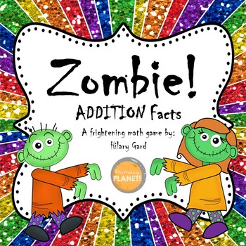 Addition facts fluency game