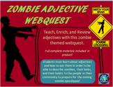 Zombie Adjective Webquest