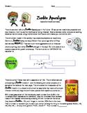 Zombie Apocalypse Algebra 1 Exponential Functions