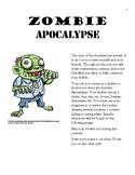 Zombie Apocalypse Engineering Project (Math, Writing, Scie