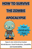 Zombie Apocalypse Geography Assignment