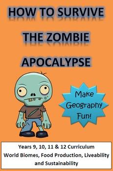 Zombie Apocalypse Geography Assignment