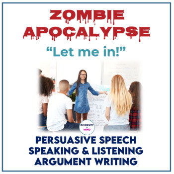 Zombie Apocalypse - Let Me In! *Distance Learning*