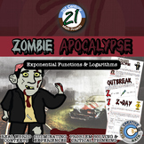 Zombie Apocalypse -- Exponential Function STEM Project / Safety Plan