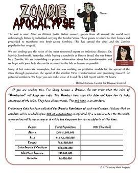 Zombie Apocalypse -- Exponential Function - 21st Century ...