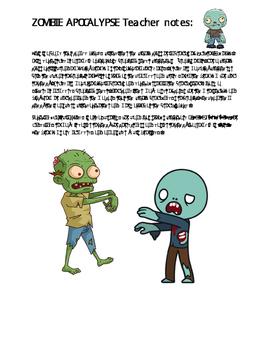 Zombie Apocalypse Linear Inequalities
