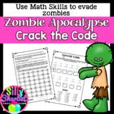 Zombie Apocalypse Math Review (Escape Room)