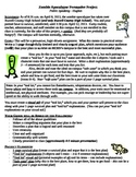 Zombie Apocalypse Persuasive Essay and Project