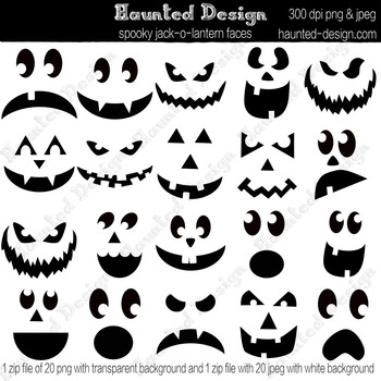 picture relating to Printable Jack O Lantern Faces referred to as Jack-o-lantern Carving Templates Jackolantern Pumpkin Carving PDF