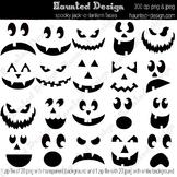 Jack-o-lantern Carving Templates Jackolantern Pumpkin Carving PDF