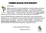 Zombie Apocalypse Project