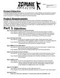 Zombie Apocalypse Project Overview and Rubrics
