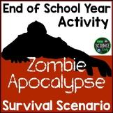 Zombie Apocalypse Survival: Back to School Activity