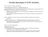 Zombie Apocalypze STEM Subject Activities