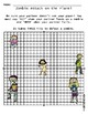 Zombie Attack Coordinate Plane Plotting Points Game