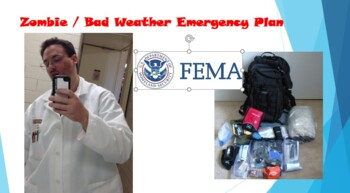 Zombie / Bad Weather Emergency Plan