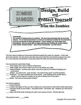 Zombie Bunker Science Lab