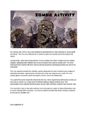Zombie Classroom Survival Activity