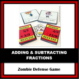 Zombie Defense: Adding, Subtracting, and Comparing Fractio
