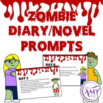 Zombie Writing Prompts- Perfect for Halloween!