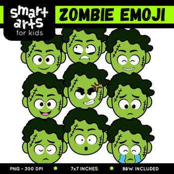 Zombie Emoji Clip Art