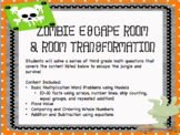 Zombie Escape Room and Room Transformation Basic Multiplication Review