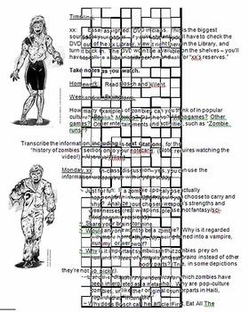 Zombie Final Exam