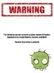 Zombie Journal for All Subject Areas: Middle School