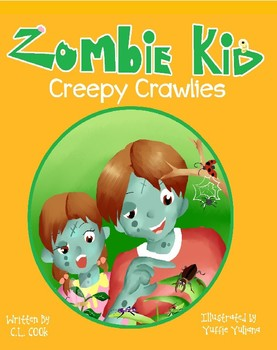 Zombie Kid Creepy Crawlies- Free Classroom Book
