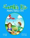 Zombie Kid Meets Harpy Girl- Free Classroom Book