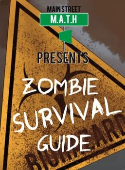 Zombie Math Survival Workbook and Teacher Guide