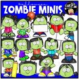 Zombie Minis Clip Art Set {Educlips Clipart}