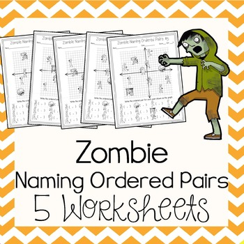 Zombie Graphing Teaching Resources Teachers Pay Teachers