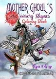 Zombie Nursery Rhymes Coloring Book
