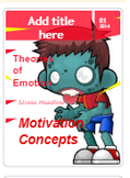 Zombie Outbreak Magazine Template (AP Psychology; Motivation, Emotion & Stress)