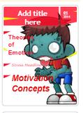 Zombie Outbreak Magazine Template (AP Psychology; Motivati