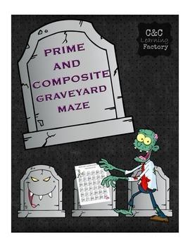 Zombie Prime and Composite Maze