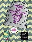 Zombie Prime and Composite Maze - SET OF 5!