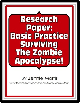 Zombie Research Paper - Basic Practice