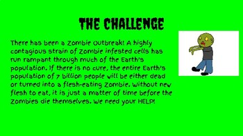 Zombie STEM Challenge Order of Operations