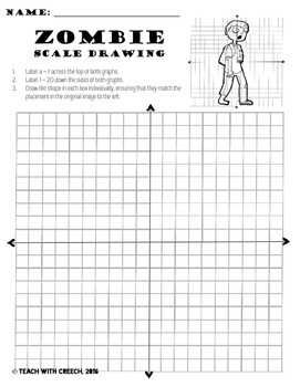 Zombie Scale Drawing Bundle