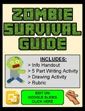 Zombie Survival Guide (Editable in Google Slides)